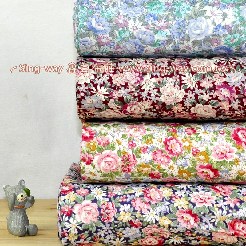 玫瑰 優雅花卉服裝布料 CH790500