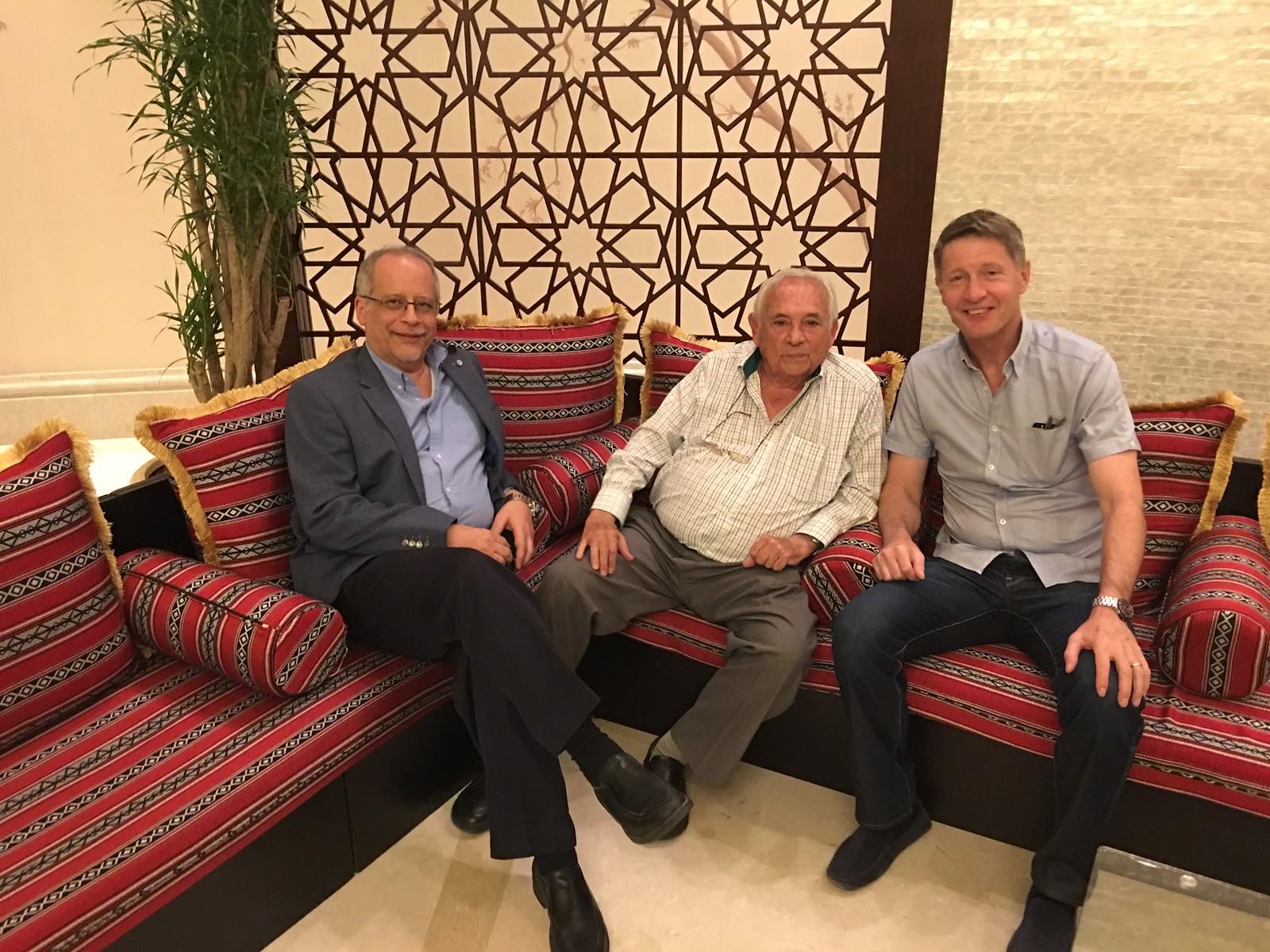 Exco Meeting Doha Dinner