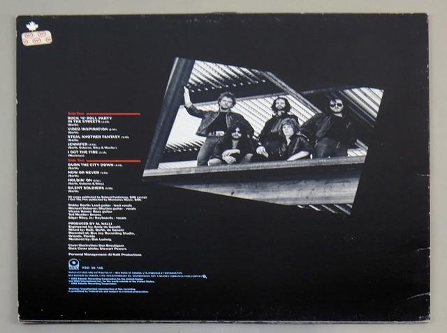 "AXE OFFERING ATCO CANADA 12"" LP ALBUM VINYL"