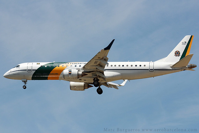 BRAZILIAN AIR FORCE E190 VC-2 FAB-2591