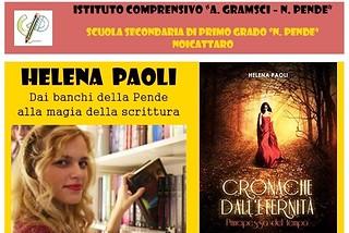 Noicattaro. Presentazione libro Helena Paoli front