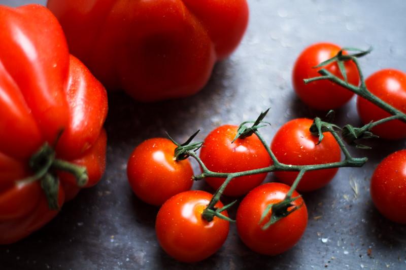 Tomaten Kirschtomaten Fleischtoomaten Foodfotografie Food Photography