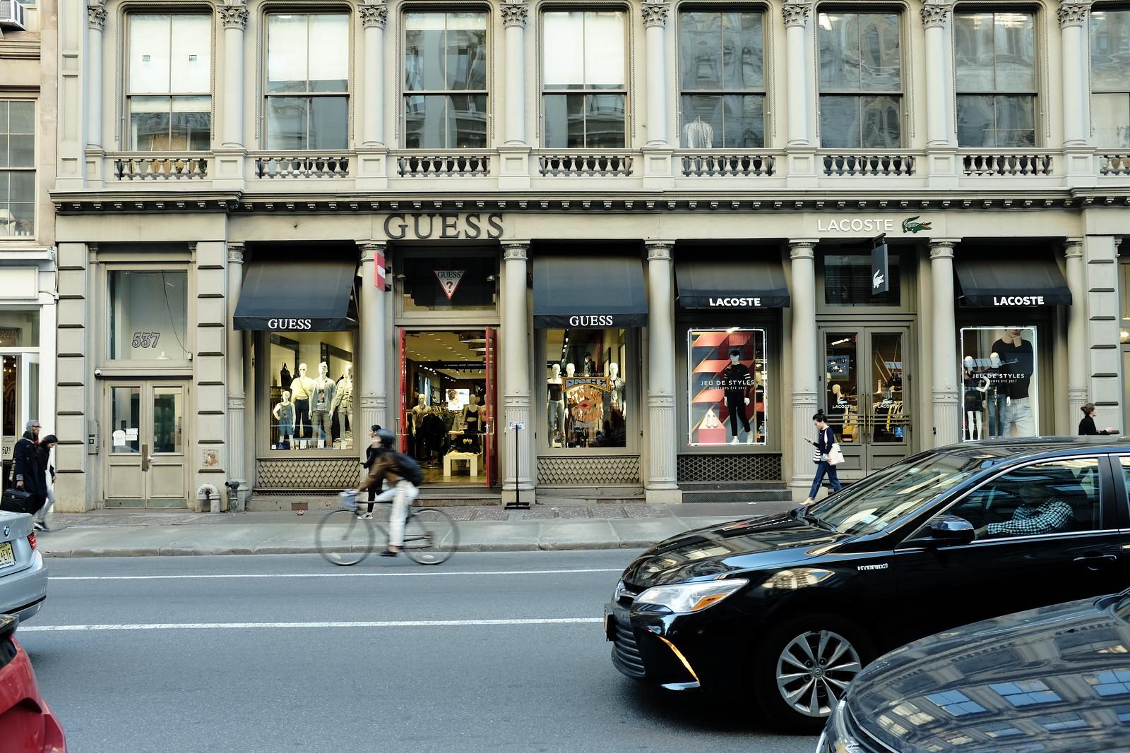 The New York Soho photo by FUJIFILM X100S.
