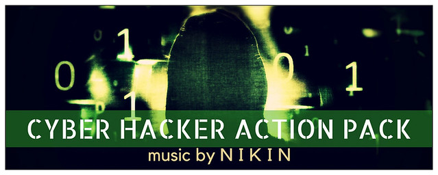 CYBER HACKER ACTION PACK
