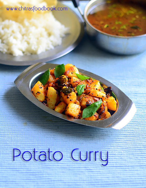 Simple potato poriyal recipe