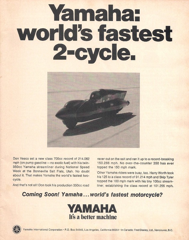 Yamaha Don Vesco