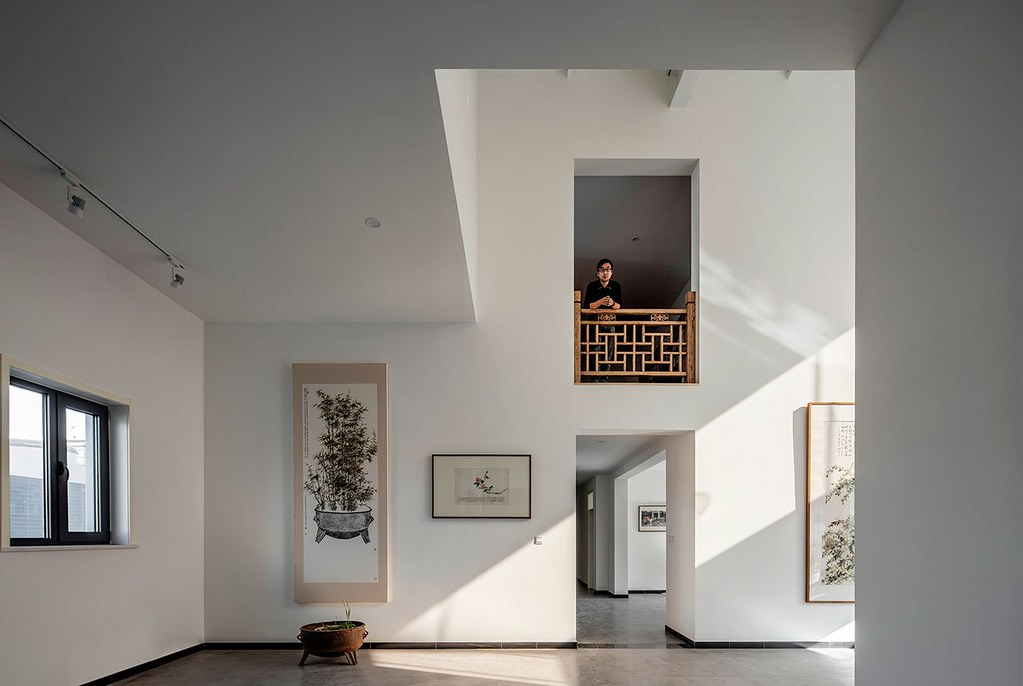 An art Studio design of Juxtapositions by Office PROJECT in Beijing, China Sundeno_13