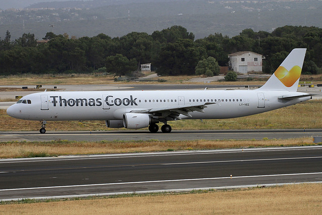 LY-VEE. A-321. Thomas Cook. PMI.