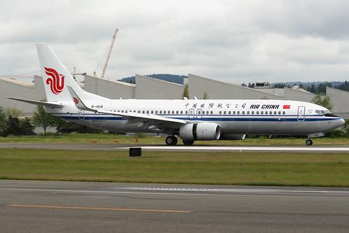 Boeing 737-89L(WL) Air China B-1418 LN6414