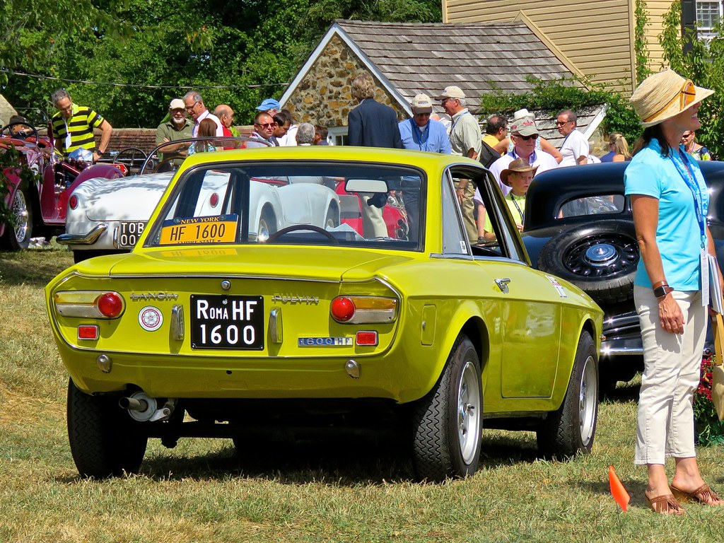 Lancia Fulvia 1600 Radnor Hunt 3