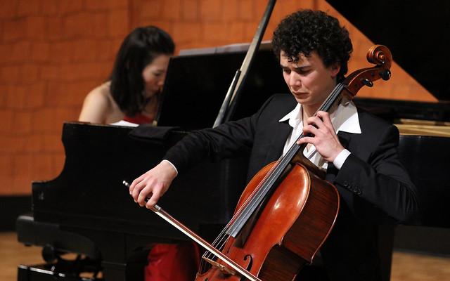 """FERMÍN VILLANUEVA, CELLO & MIZUKI WAKI, PIANO - JUEVES 4 DE MAYO´17 - CICLO JUVENTUDES MUSICALES - AUDITORIO """"ÁNGEL BARJA"""" DEL CONSERVATORIO DE LEÓN"""