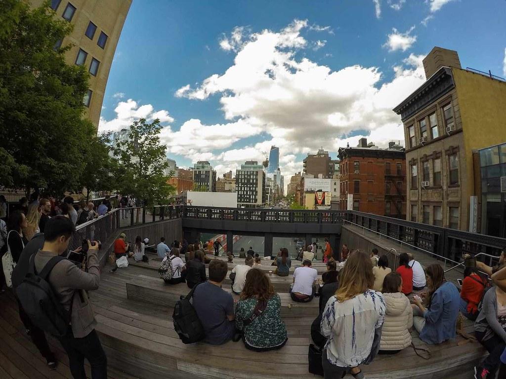 High Line Park in spring 2