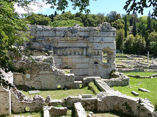 ruines cimiez