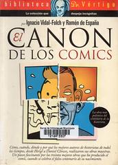 Ignacio Vidal-Folch y Ramon de España, El canon de los comics