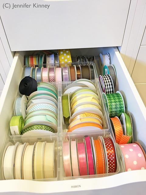 Craft room_ribbon