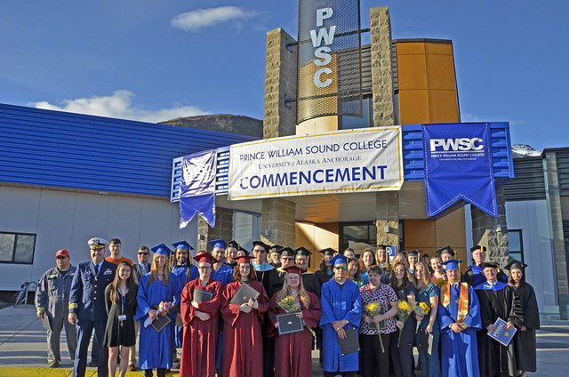 Prince William Sound College Commencement 2017