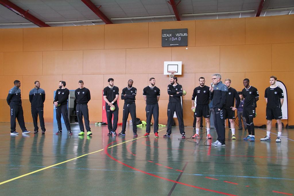 Le HBC Nantes à la Joliverie