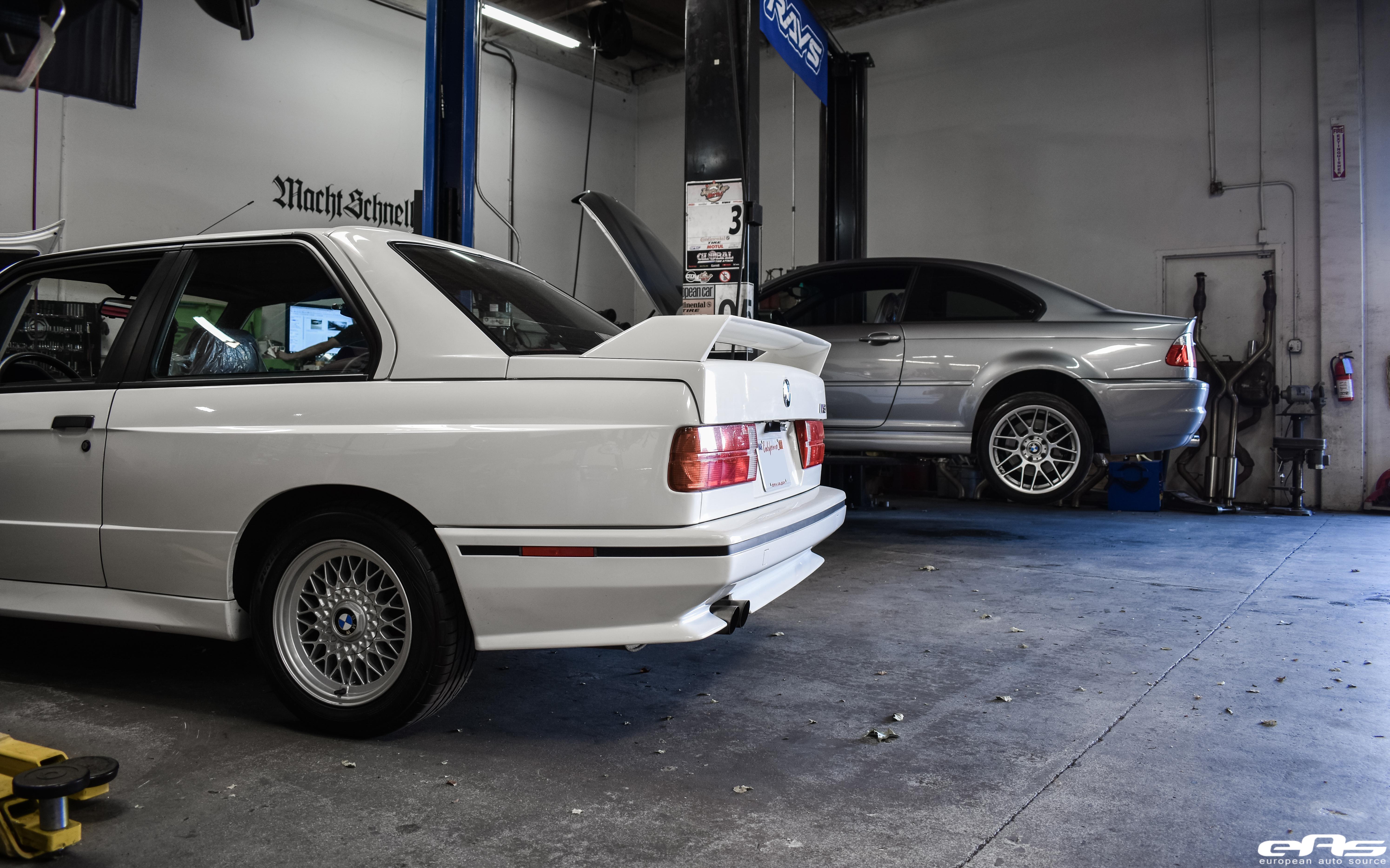 Alpine White E30 M3 Bmw Performance Parts Services