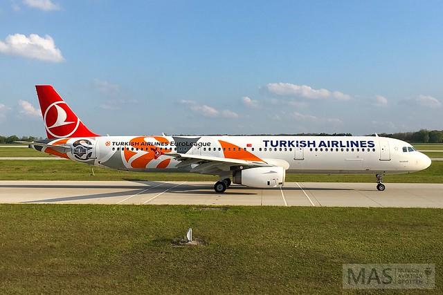 Turkish Airlines A321-200 TC-JRO @ MUC