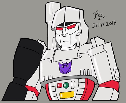 G1 Megatron Sketch (Coloured)