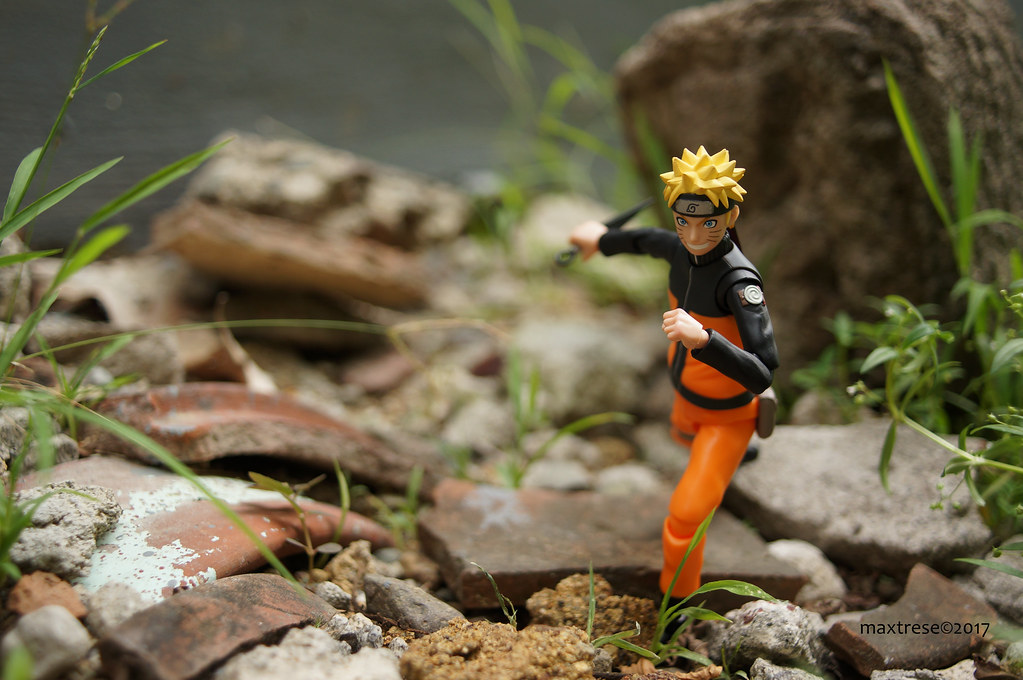 SHF Naruto Sennin Mode outdoor