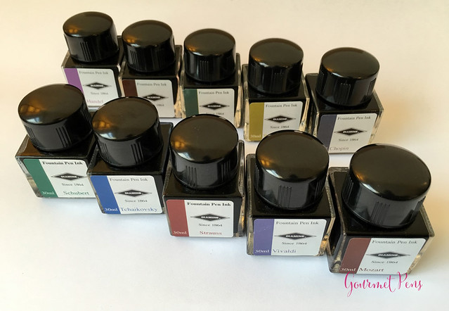 Ink Shot Preview Diamine Music Inks @AppelboomLaren  4