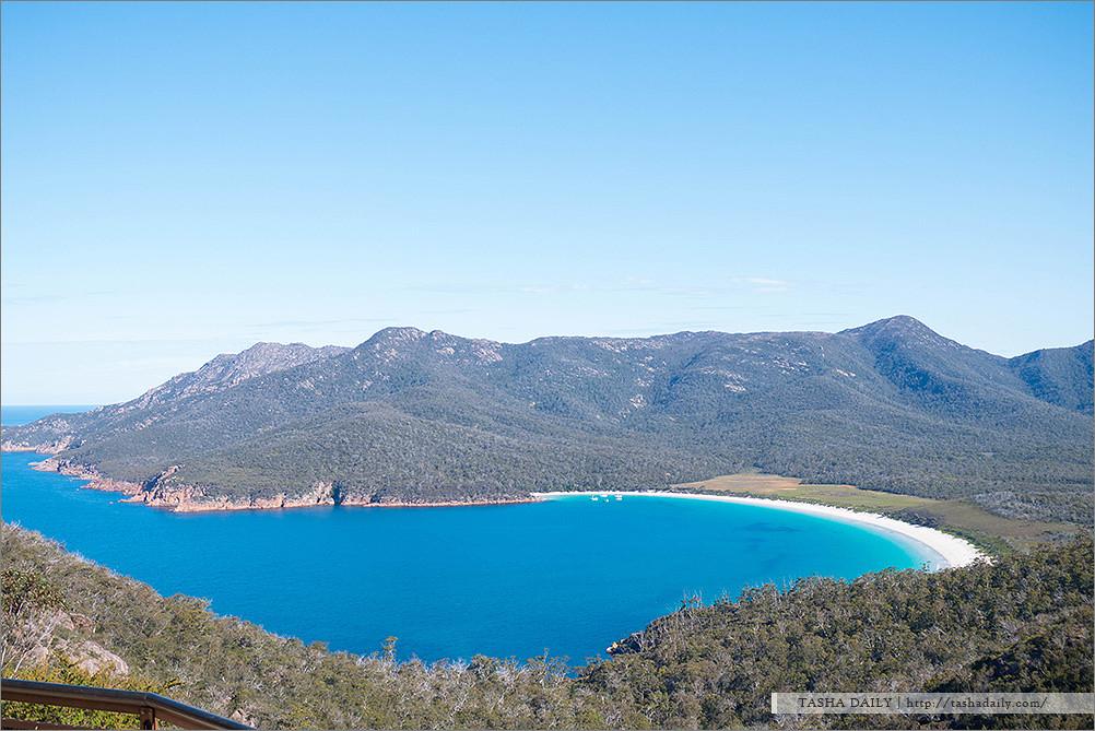 塔斯自由行︱Wineglass Bay.全球十大夢幻海岸線、藏著讓人心碎的歷史
