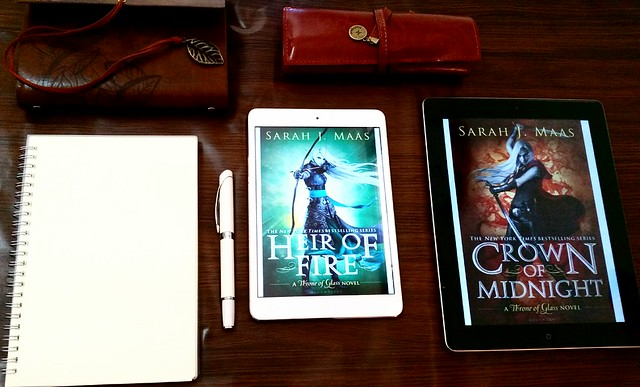 Heir of Fire by Sarah J. Maas | Throne of Glass #3