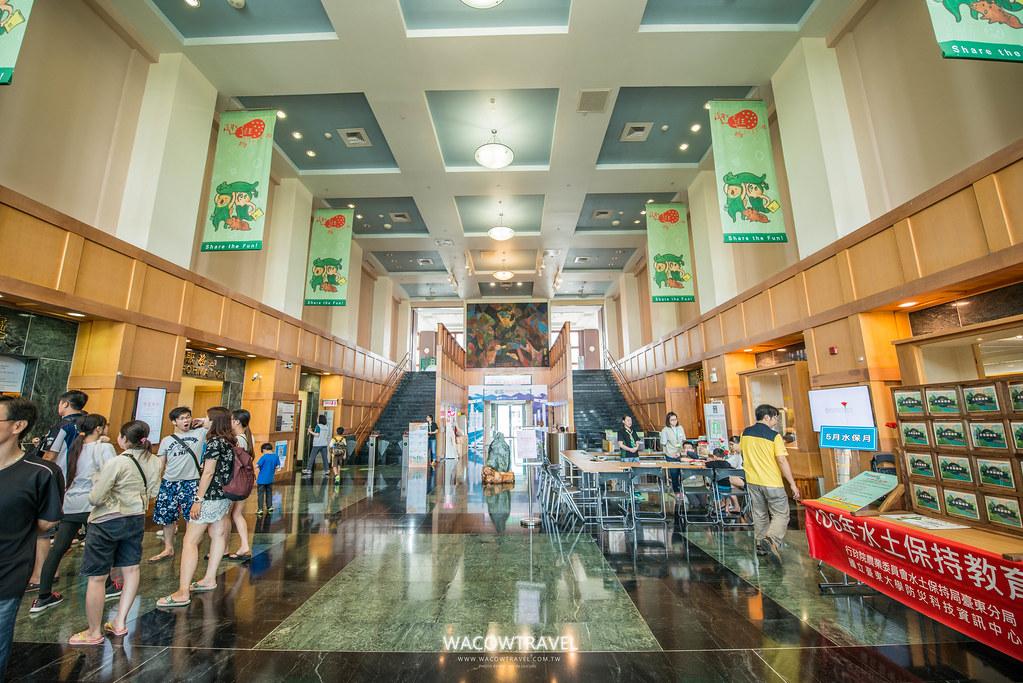 史前博物館大廳