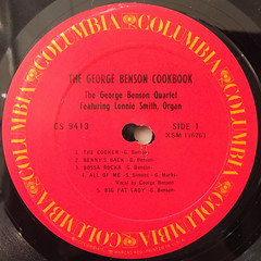 GEORGE BENSON:THE GEORGE BENSON COOKBOOK(LABEL SIDE-A)