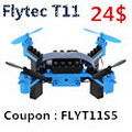 Flytec T11 DIY Building Block RC Quadcopter with coupon code discount