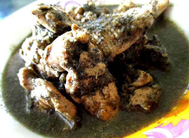 Anak Borneo kacang ma chicken with tuak