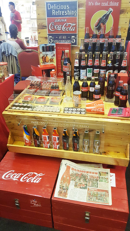 coca cola collectors fair 2017 vintage
