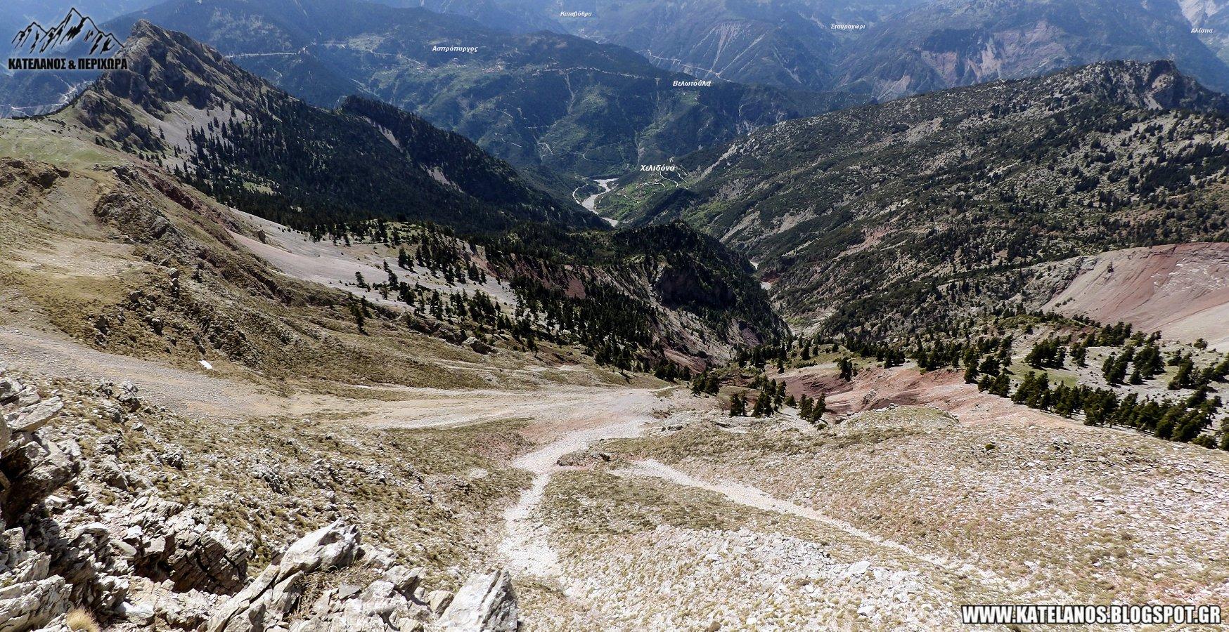 προσηλακι χελιδονας τρυπιο βουνο βνι λαστοβο χωριο