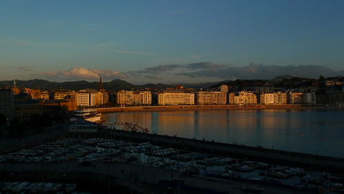 Sunset - San Sebastian, Spain