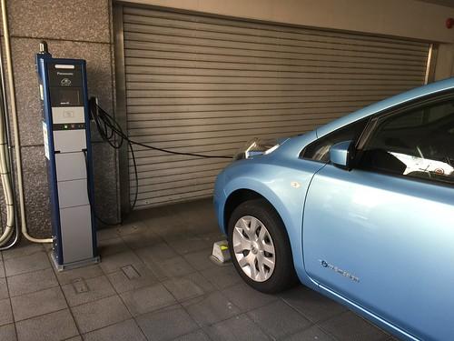 静岡第一ホテル 電気自動車用 普通充電器あります。