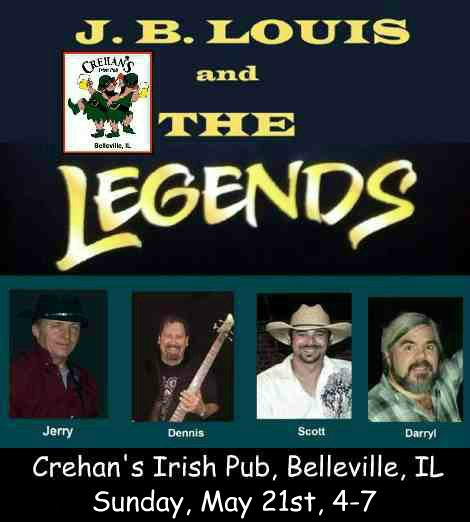 J.B. Louis and The Legends 5-21-17