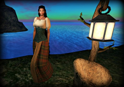 Lady MacAlister of Skye Dress by MacMoragh an Gabha | by melyna.foxclaw