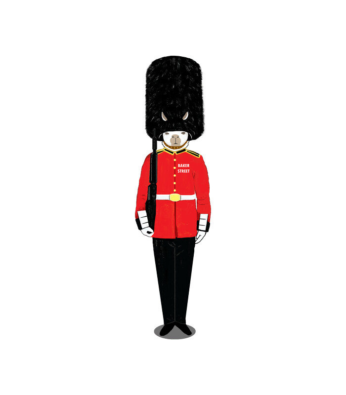 little-stampgrenadier-guard-printed-t-shirt