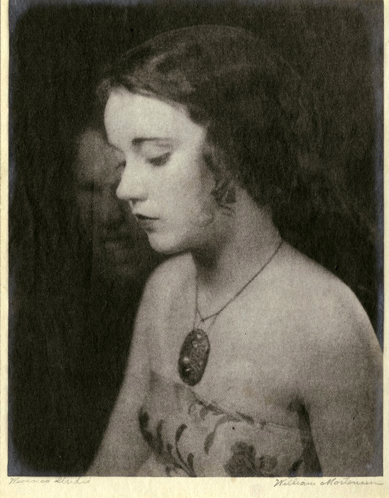 William Mortensen - Portrait of Fay Wray, 1921-22