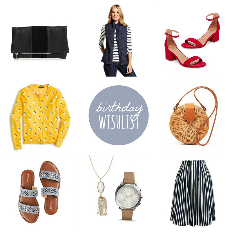2017 birthday wishlist | Style On Target blog