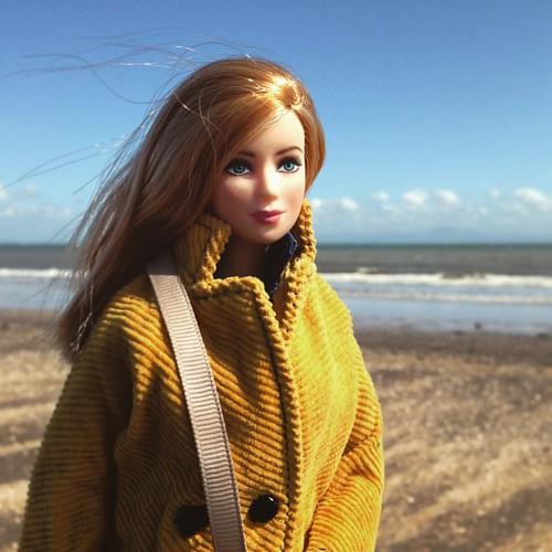 Juno . #barbiecustom #barbie #barbiecollector #sixthscale #dollphotography #playscale #fashiondollphotography #dollstagram #instadoll #maxandjuno #dollsofinstagram #doll #gaydolls #gaybarbiedoll #dollswithtattoos #barbiewithtattoos