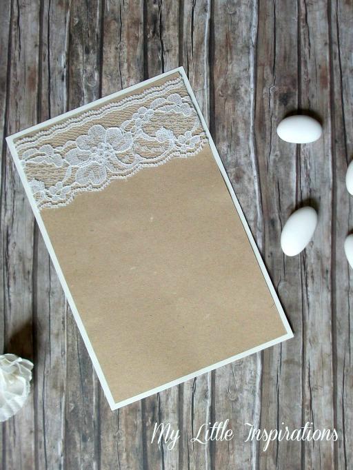 Tutorial Inviti e partecipazioni Matrimonio Rustico Romantico - MLI 4