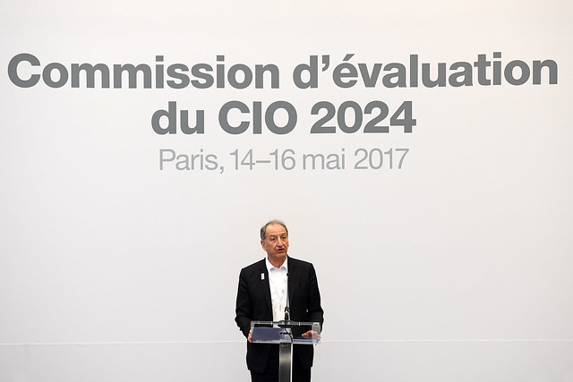 Visite de la commission du CIO à Paris - 13/16 mai 2017