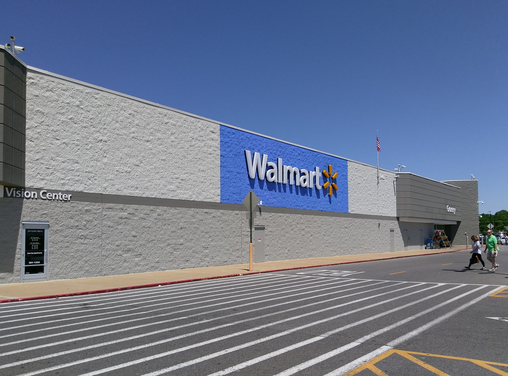 Walmart Bartlett Exterior Repaint Complete For The Sake