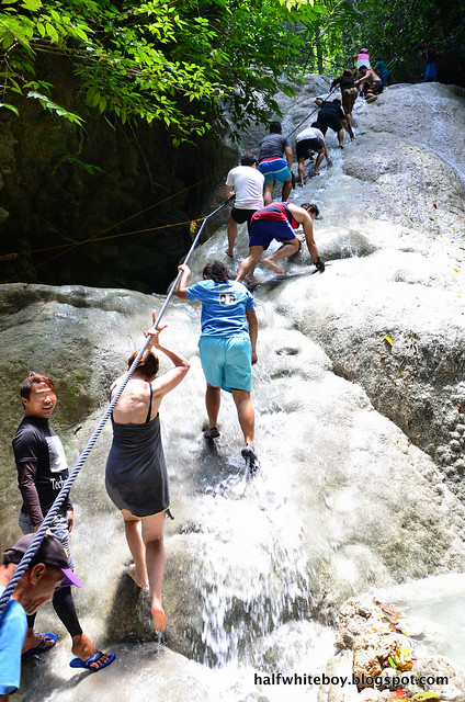 halfwhiteboy - aguinid falls, samboan, cebu 06