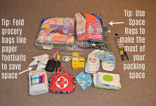 Summer Go Bag prepared for fun Tips on The SIMPLE Moms