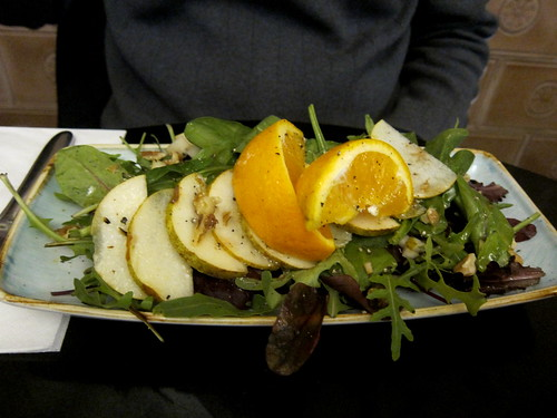 Pear and Orange Salad