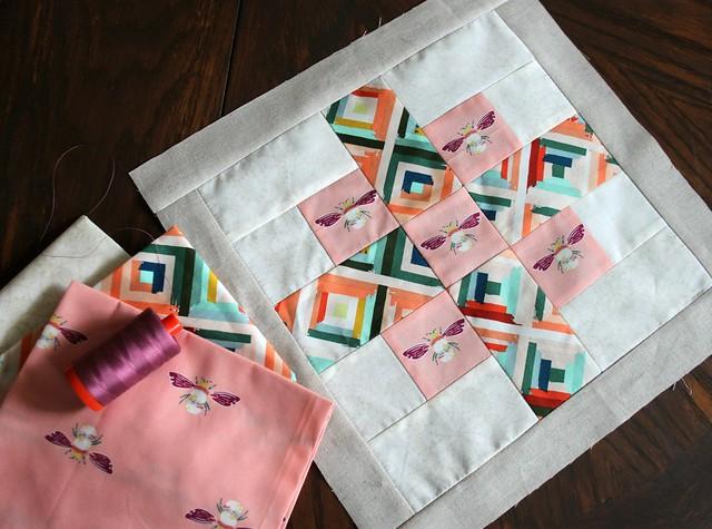 Week Fourteen Block & Fabrics
