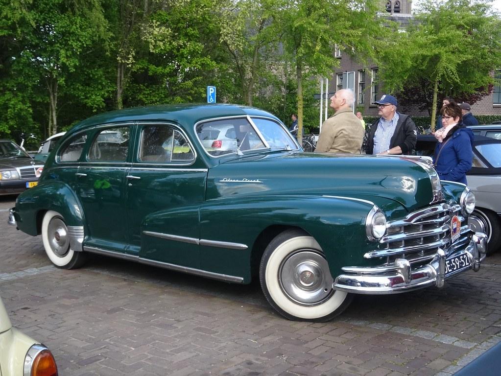 1948 pontiac streamliner silver streak pontiac built the s flickr